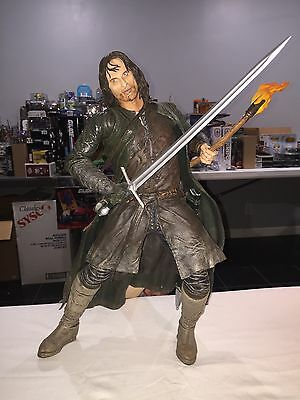 "NECA Lord of the Rings Aragorn 20"" Epic Figure Loose"