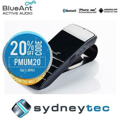 New BlueAnt Commute 2 Voice Activated Handsfree Bluetooth Car Kit