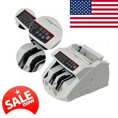 USA Ship Money Bill Currency Counter Counting Counterfeit Detector UV MG Cash