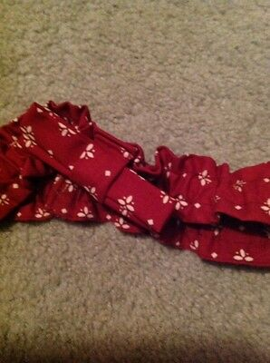 Longaberger Small Garter-Traditional Red
