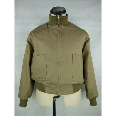 WW2 US Tanker Jacket 1st Pattern Fury With Patches