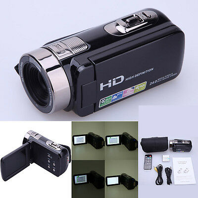 "24MP 3.0"" LCD Touchscreen Digital Video Camera Camcorder DV Full HD 1080P Flash"