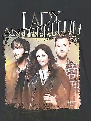 Lady Antebellum tour graphic t-shirt women sz S concert country music