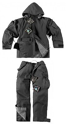 HELIKON TEX ECWCS Outdoor Cold Wet Weather Hose Jacke Black Schwarz L / Large