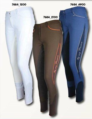 Breeches Comfort full seat- Golden Gate (7684) - by HKM - RRP $249.95