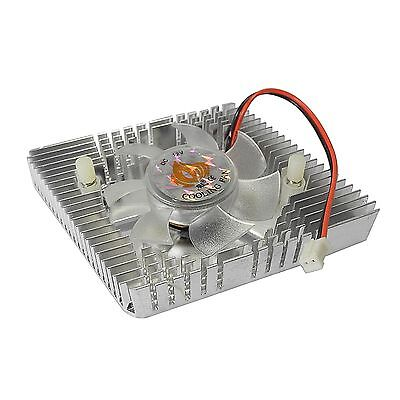 Parallelogrm Video Graphic VGA SVGA Card Chipset Cooler Cooling Fan and Heatsink
