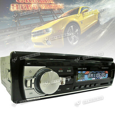 Car In-Dash Stereo LCD Screen FM Radio MP3 Player USB SD AUX Input with Remote