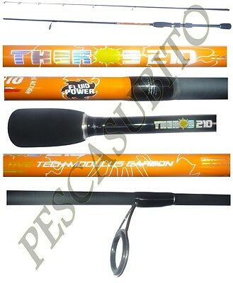 canna light spinning theros 2.10m 2/10g pesca rock fishing trout game trota lago