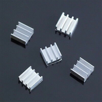 5pcs 11x11x5mm  Aluminum Heat Sink For Memory Chip BE