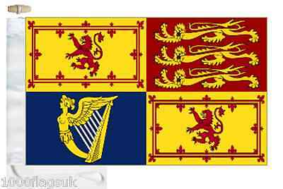 Scotland Royal Standard Courtesy Boat Flag (Roped & Toggled)