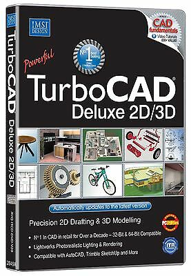Avanquest TurboCAD Deluxe 20 (PC) for Windows