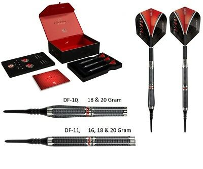 Target Daytona Fire Tungsten Soft Tip Darts - Stunning Design - 18 or 20 Gram