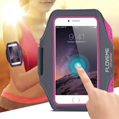 Gym Running Jog Sports Armband Case Cover Holder For iPhone 6s 7 8 Plus X S002