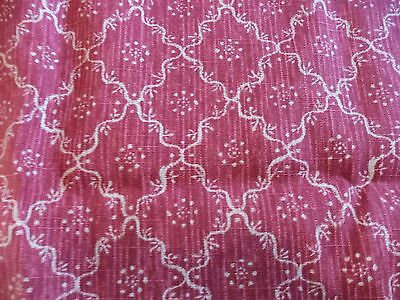 Colefax & Fowler Fabric - Lancaster -Red