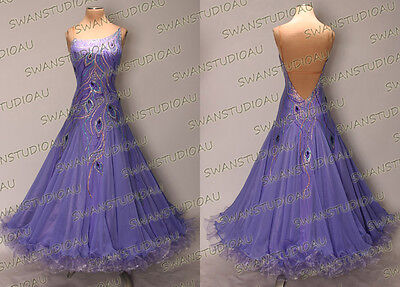 Ballroom .standard. Smooth Dance Competition Dress Size S M L Wb3177