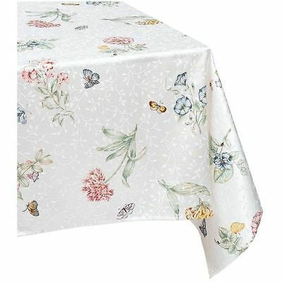 New Lenox Lenox Butterfly Meadow Jacquard Damask Square Tablecloth