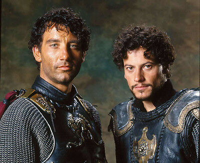 King Arthur UNSIGNED photo - E342 - Clive Owen and Ioan Gruffudd