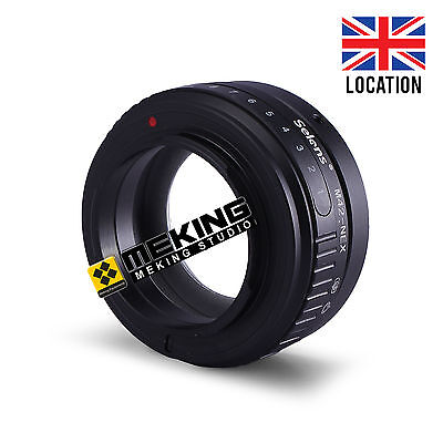 Selens Tilt-shift Lens Adapter Ring for M42 To Sony E Mount NEX NEX3 Camera UK