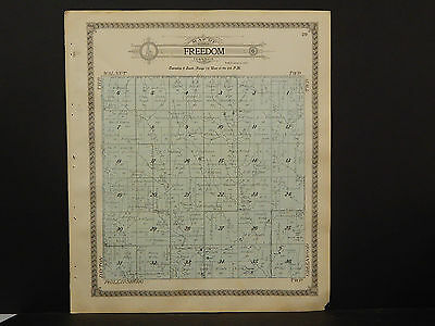 Kansas, Phillips County Map, 1917 Township of Freedom or Phillipsburg P3#38