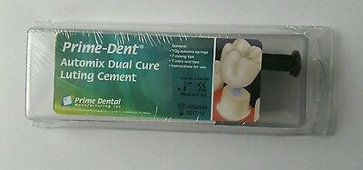 Automix Dual Cure Luting Cement Ionomer Grown Veneer Brackets.