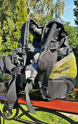 Mares Frontier BCD Jacket with Integrated Weight Pockets Black Size Medium
