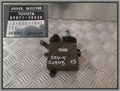 Toyota Corolla 2,0D4D INJECTOR DRIVER 89871-20030 131000-1041 36MG