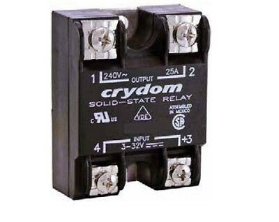 Crydom D1225-10 SS RELAY 24-140 V - PM IP00 140VAC/25A, 3-32VDC In,US Authorized