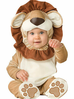 Newborn Baby Lovable Lion Animal Carnival Fancy Dress Costume Outfit