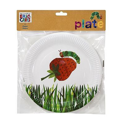 12 The Very Hungry Caterpillar Paper Plates Childrens Birthday Party