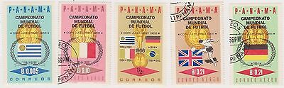 (PAN-79) 1966 Panama 5stamps world cup (not issued)