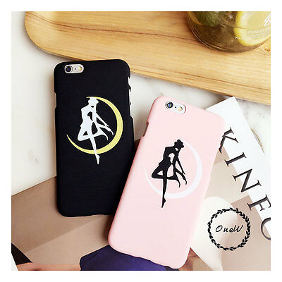 Creative Cute Cartoon Girl Matte Hard Case Cover Skin For iPhone X 5 6S 7 8 Plus