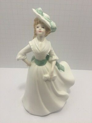 Royal Doulton Figurine Margaret HN 3496 New Colourway 1993 W/ Inspection Sticker