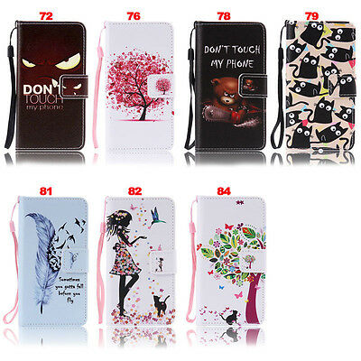 Bear Wallet Leather Flip Case Cover For Sony Xperia 1 10 L3 XA XZ1 XZ2 Compact