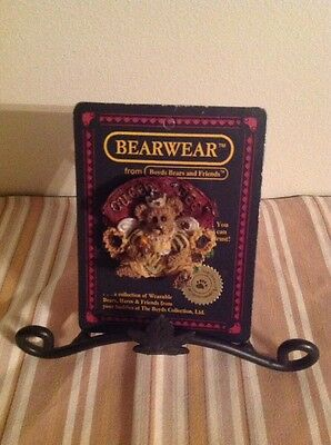 Boyd's Bear Exclusive Bear wear Queen Bee Pin