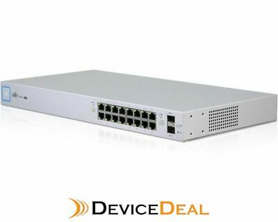 Ubiquiti US‑16‑150W UniFi 16-port 150W Managed PoE+ Gigabit Switch with SFP