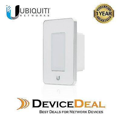Ubiquiti mFi‑LD‑W In-Wall Manageable Switch/Dimmer - White Colour