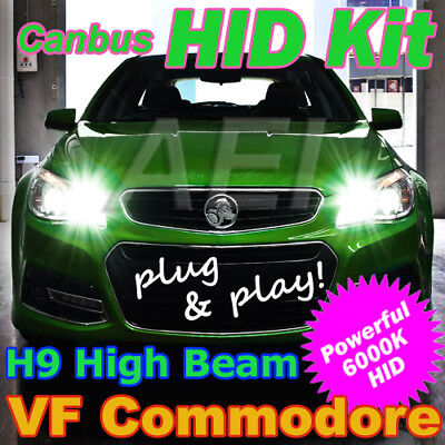 Plug-and-Play H9 6000K High Beam HID Kit to suit Holden VF Commodore & HSV Gen-F