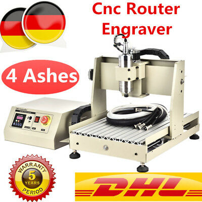 4 Axis CNC Router Engraver Engraving Milling fräsmaschine Graviermaschine 3040