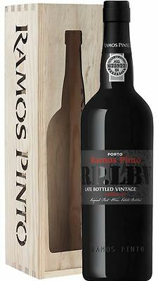 Ramos Pinto Late Bottled Vintage Port 2011 in Wooden Gift Box 75cl