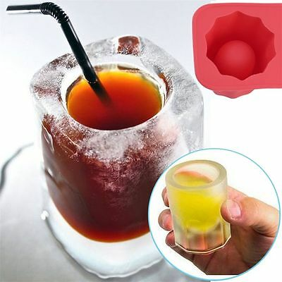 Silicone Cup Ice Cube Tray Mould Bar Jelly Pudding Chocolate Mold Bar Ice Beer