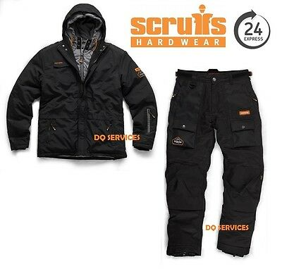SCRUFFS Expedition Double Zip Work Jacket & Waterproof Thermal Trousers Set
