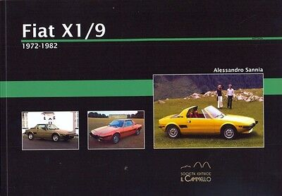 Fiat X1/9 1972-1982 - great history book