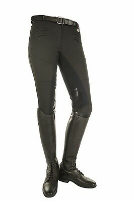 Breeches -Atlantis style- with 1/1 Alos + silicone by HKM - 5236 RRP $199.50