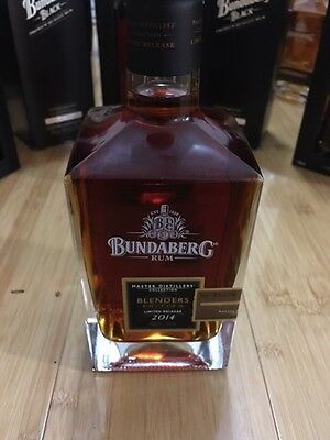 Bundaberg Rum Blenders 2014 Master Distillers Collection Bottle No. 38536