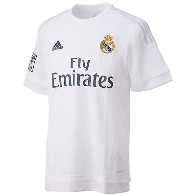 Adidas Real Madrid Home Shirt 2015/16 Kids 100% Authentic
