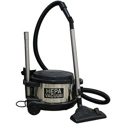 Pullman-Holt 390ASB 4 Gallon Dry HEPA Vacuum for Asbestos, Lead and Mold Dust