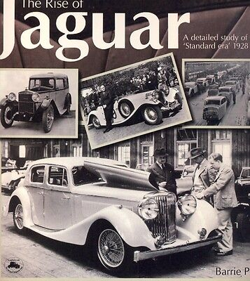 The Rise of Jaguar 1928-1950 scarce out-of-print book