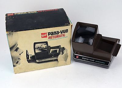 Vintage Pana-Vue Automatic Lighted 35mm 2x2 Slide Viewer