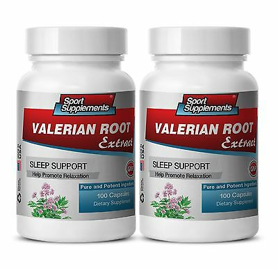 Valerian Capsules 500 - Valerian Root Drops 60ml - Relaxation Aids 2B