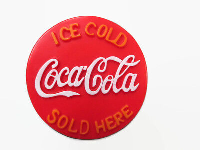 """Coca-Cola """"Ice Cold/Sold Here"""" Magnet - FREE SHIPPING"""